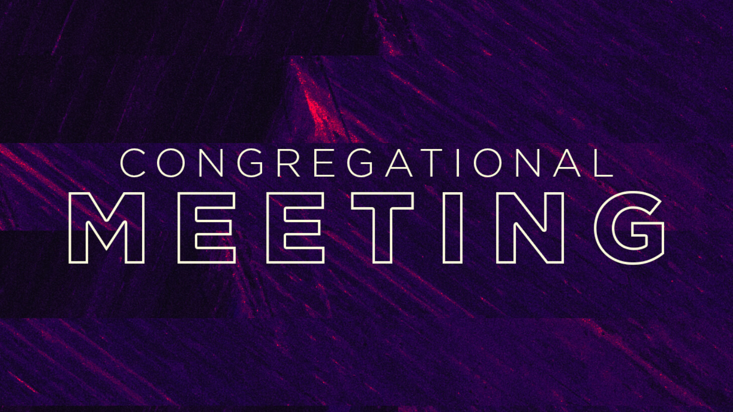 Congregational Meeting | Bylaws Update